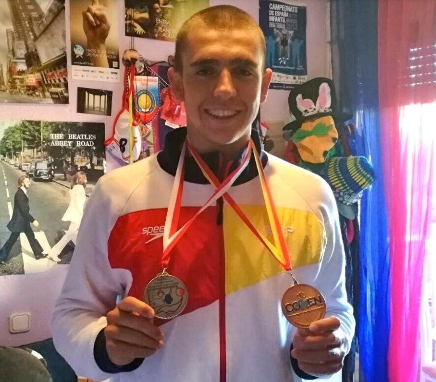 Waterpolo: El majariego Javier Baringo (CNW Caude) conquista junto a España la plata del Europeo