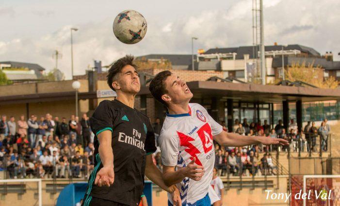 "Rayo Majadahonda juvenil de Alberto Alvarez le echa un pulso al ""Guti Team"" del Real Madrid (0-2)"