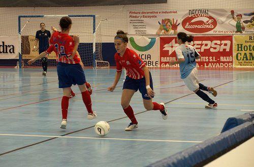 Fútbol sala femenino: At. Madrid empuja al Majadahonda al descenso (1-5) y el B empata en Coruña (2-2)