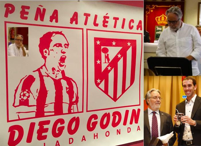 La Peña Godín Majadahonda preside las 148 asociaciones de la Unión de Peñas del At. Madrid