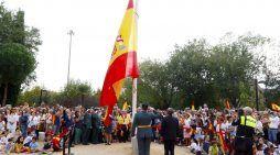 """12-O: El alcalde de Majadahonda salva un """"sabotaje"""" y clama contra los """"golpistas catalanes"""""""