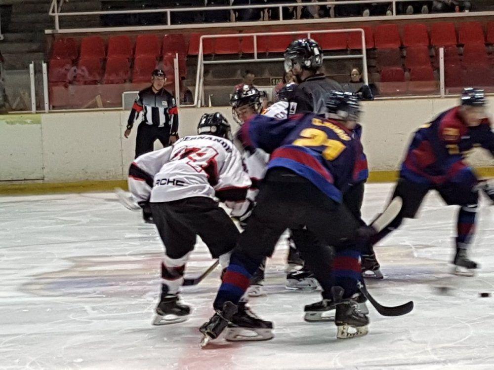Hockey Hielo: actas e imágenes del duelo en la cumbre FC Barcelona-SAD Majadahonda (8-3)