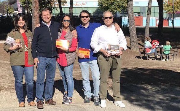 Los partidos políticos se movilizan en Majadahonda: PP, Cs, PSOE, Podemos e IU