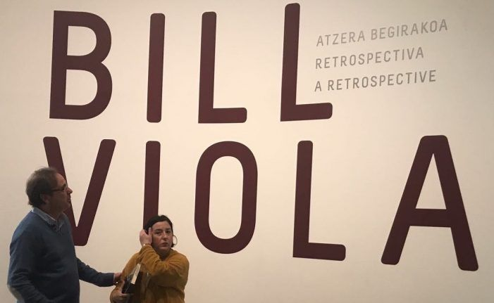 Elogio de la locura: Bill Viola, Kira Perov, John G. Hanhardt y Lucía Agirre en el Guggenheim de Bilbao