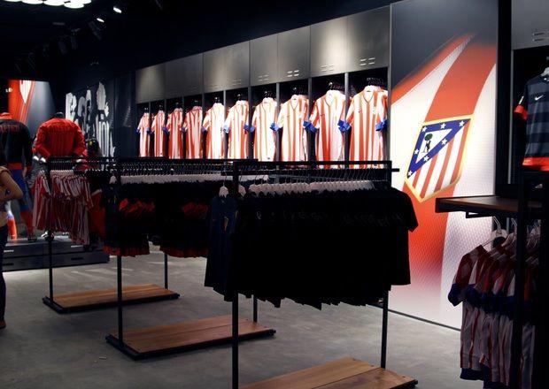 El Atlético de Madrid abre su 2ª tienda en Majadahonda y la 6ª en España