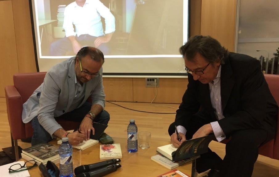Majadahonda celebra el Día de la Biblioteca con Jesús Marchamalo y García Novell