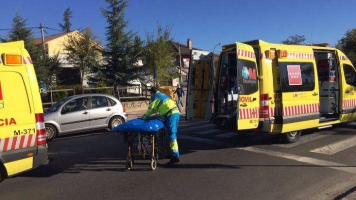 Puerta de Hierro Majadahonda salva la vida del ciclista de 32 años que chocó por detrás contra un todoterreno