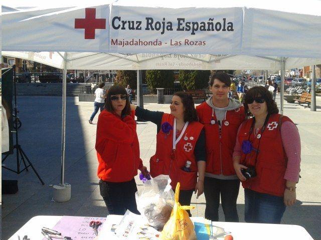 Comunicados Cruz Roja Majadahonda: Día de la Banderita, Donación de Sangre e informe de actividades