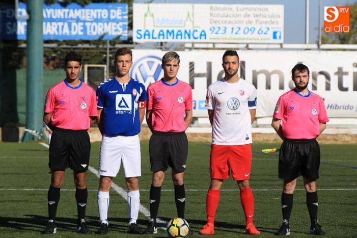 Fútbol juvenil: Rayo Majadahonda se trae de Salamanca un empate y unas espectaculares imágenes