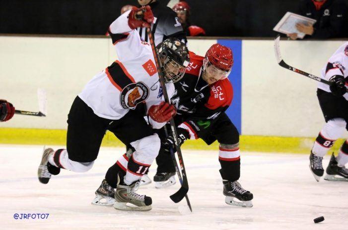 Hockey Hielo: Majadahonda se juega la 2ª plaza contra Jaca, campeón de la Copa del Rey