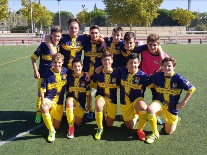 Fútbol base fin de semana: Puerta de Madrid (Majadahonda) empata contra el Plata y los juveniles ganan