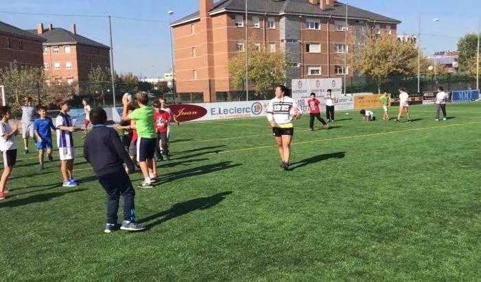 """CR Majadahonda descubre el rugby a 400 niños en la """"European Week of Sport 2017"""""""