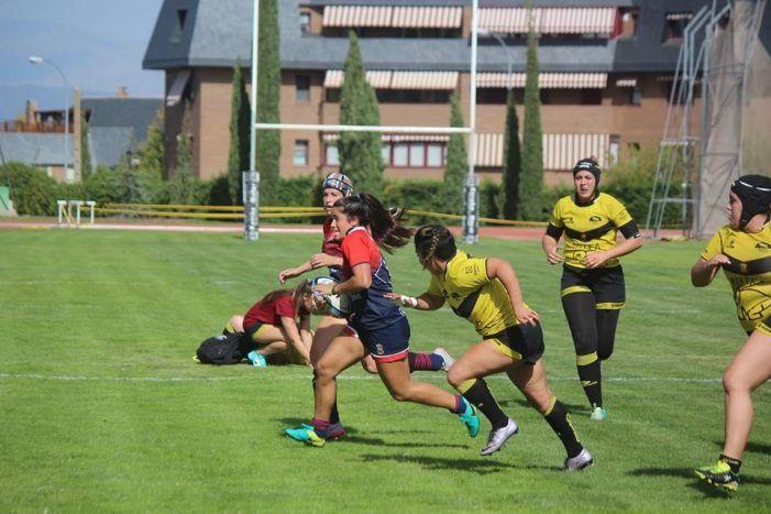 Rugby femenino: CR Majadahonda se corona como máxima anotadora en la 2ª jornada de liga