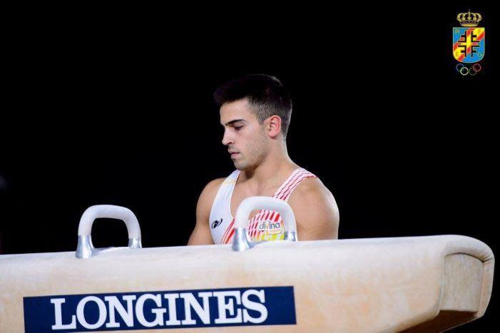 Gimnasia: Alberto Tallón despierta la euforia de Majadahonda con sus puntuaciones en el Mundial