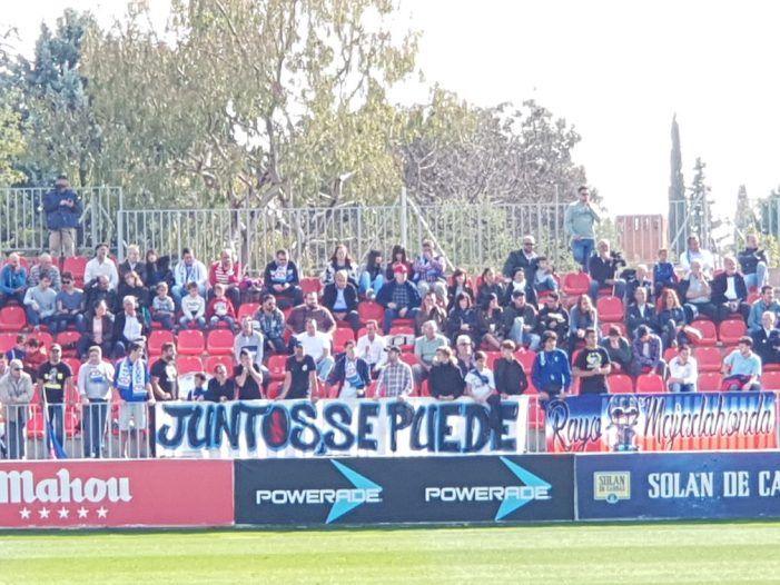 """Reparto de gafas en el """"derby"""" de Majadahonda: Wanda para el Atleti y Cerro para el Rayo (0-0)"""