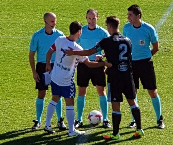 Los íberos de Majadahonda dan una lección de fútbol a los celtas de Vigo con imputados por corrupción en el palco