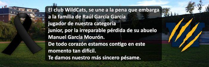 Obituario: pésames de PP Majadahonda y WildCats por los fallecimientos de Fernando Díaz y Manuel García Mourón