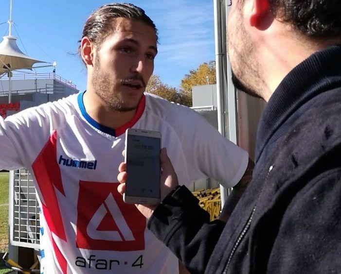 El gol de Juan Cruz al Cerceda (Rayo Majadahonda) traspasa fronteras y llega hasta Italia