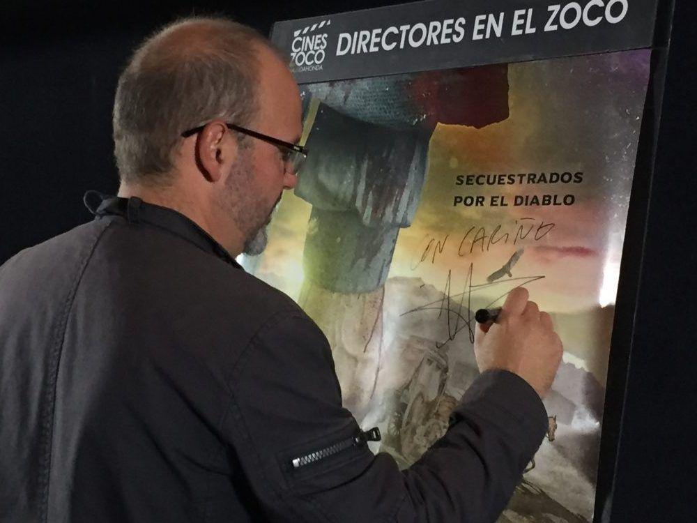 """Víctor Matellano, el """"Polanski español"""", provoca el caos en Majadahonda con un western camino al infierno"""