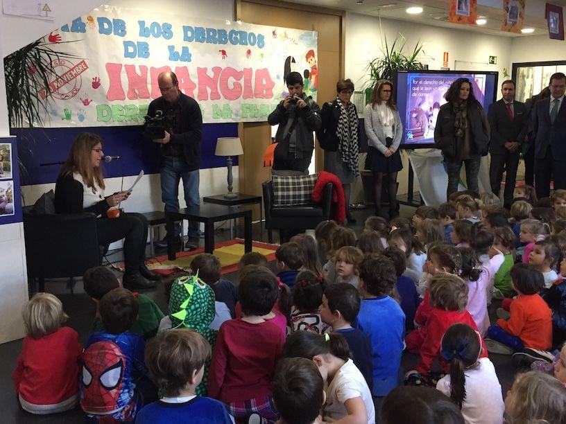 """Exito del """"Día del Pijama"""" en el Colegio Caude Majadahonda y premios a Real Madrid, Guardia Civil, Radio 5 y Víctor Ullate"""
