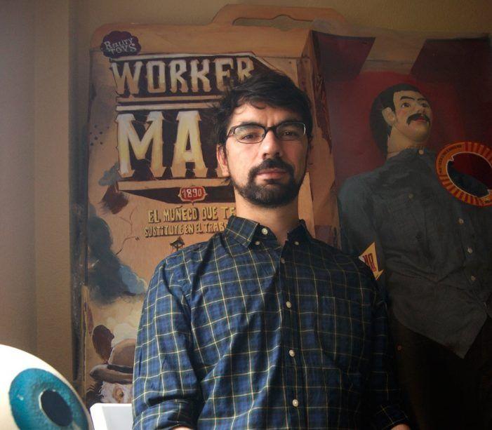 """El entorno y los bares de Majadahonda inspiran el """"surrealismo"""" del ilustrador Jonathan Notario"""