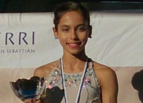 Patinaje artístico: La campeona de España Marian Millares (Majadahonda) conquista el oro en Guipúzcoa