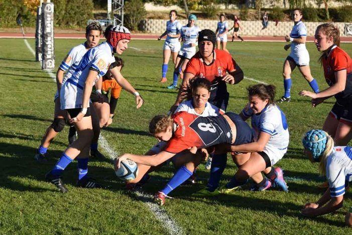 Dossier de prensa rugby femenino: elogios al CR Majadahonda por tumbar al invicto Olímpico Pozuelo tras 12 partidos