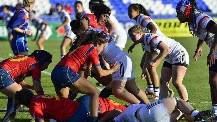 Rugby Femenino: Las jugadoras del CR Majadahonda regresan a casa tras caer con España ante Francia (0-97)