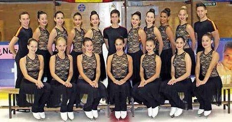 Patinaje artístico: Team Fusión Majadahonda subcampeón en Granada y ya apunta a los mundiales de Estocolmo
