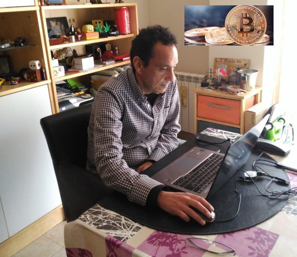 """Los secretos de la moneda digital llegan a Majadahonda de la mano de """"Oscar Bitcoin"""""""
