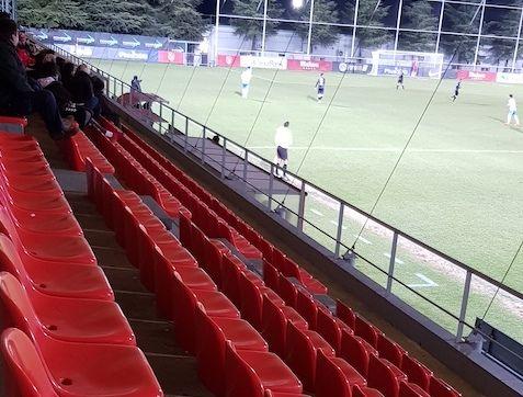 """Una noche gélida deja al Rayo Majadahonda sin el """"trono"""" de la Copa ante el """"Sanse"""" de los Reyes (0-1)"""