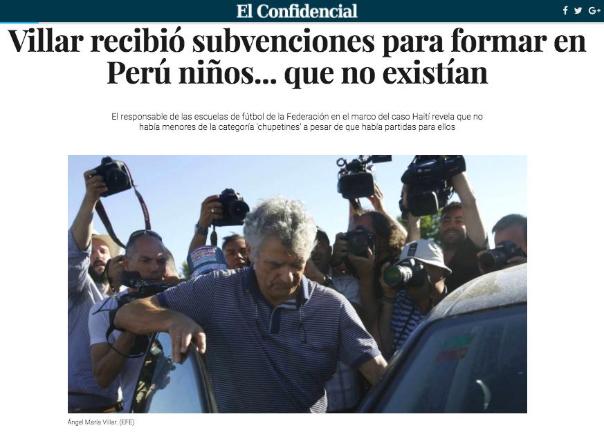 """Facebook Twitter WhatsApp Telegram Print Compartir. """"Uno de los proyectos  de la Real Federación Española de Fútbol (RFEF) que presidía Ángel María  Villar y ... cb1816a2e9366"""