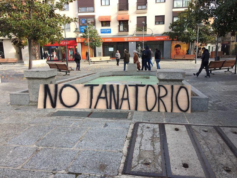 Tanatorio Majadahonda: Vecinos Roza Martín piden a la oposición que cambie el voto