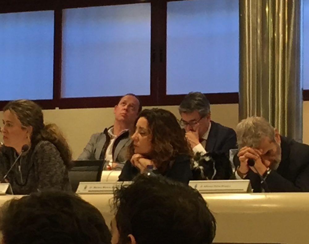 """Ana González (Roza Martín): """"Ha sido un teatro del que salimos decepcionados y traicionados"""""""