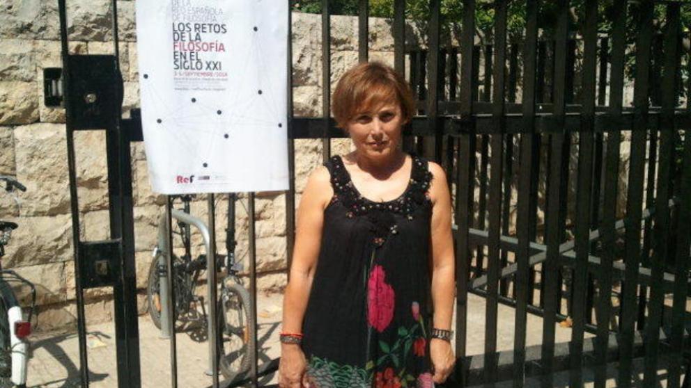 """Esperanza Rodríguez, profesora de Filosofía en Margarita Salas Majadahonda: """"Me he sentido engañada por los políticos"""""""