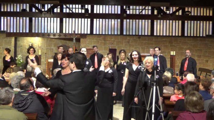 Majadahonda recibe a los 130 cantantes de la deslumbrante Coral Santiago Apóstol de Griñón