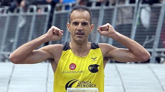 Atletismo: el campeón de España de fondo M-45 y plusmarquista en Majadahonda, favorito para la San Silvestre