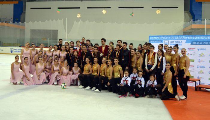 Protagonistas Deporte Majadahonda: patinaje sobre hielo, natación, fútbol americano, gimnasia, baloncesto y fútbol
