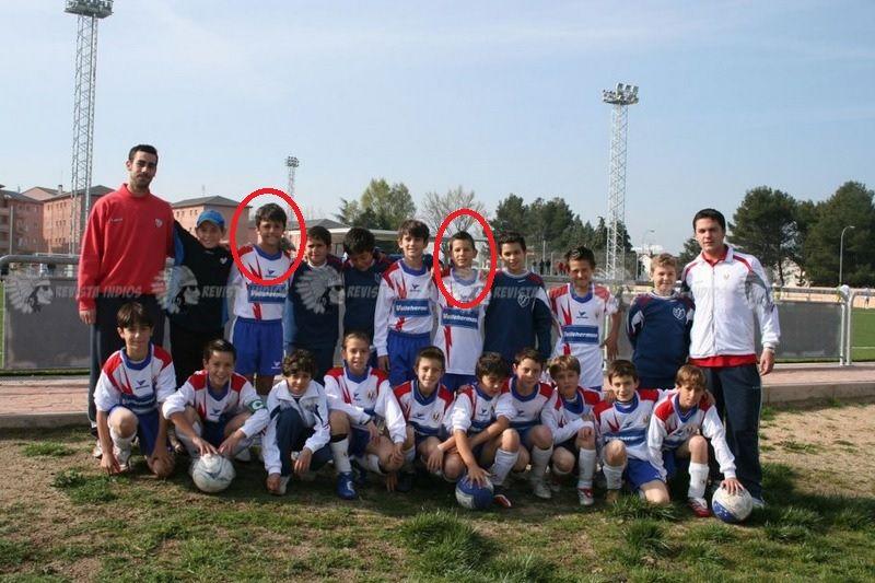 """Fútbol: el nuevo fichaje """"Rodri"""" (At. Madrid)  y Lucas jugaron juntos en Majadahonda"""