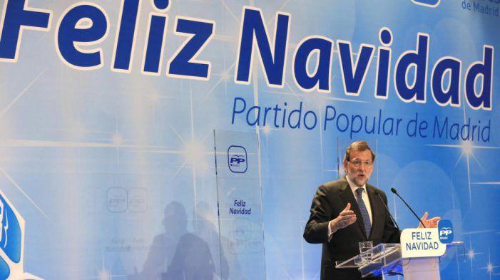 """""""Salomónico"""" Rajoy: Cena de Navidad del PP entre Las Rozas y Majadahonda con Cristina Cifuentes"""