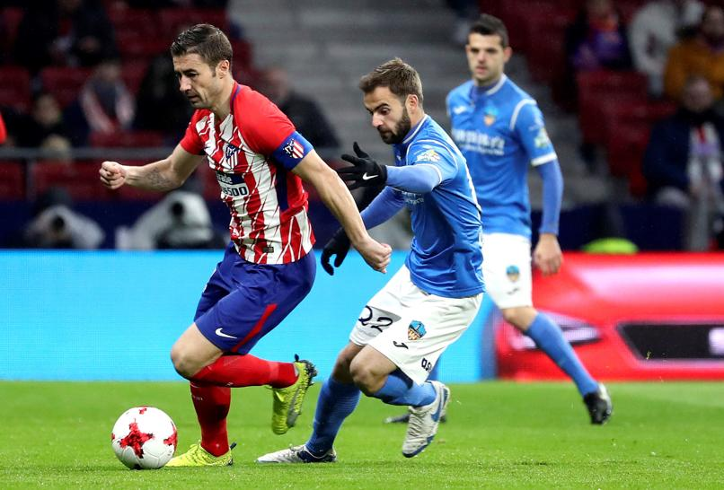Sergi, Jorge Félix y Aitor Núñez, destacados en el At. Madrid-Lleida (Copa): Saúl regala su camiseta