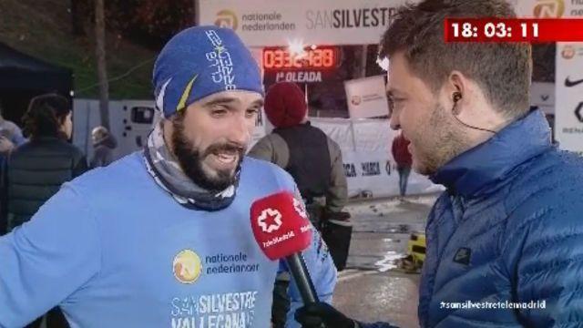 La prensa ensalza la hazaña del atleta Borja Pérez (Majadahonda): campeón San Silvestre 2017