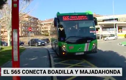 Boadilla se une a Majadahonda para aprovechar el transporte conjunto por bus y tren