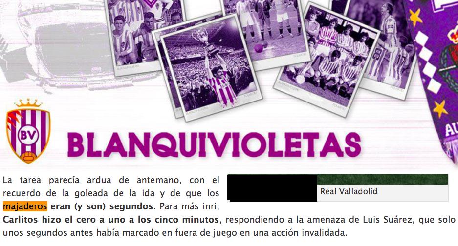"""Decepción entre la afición y críticas en Valladolid por llamar """"majaderos"""" a los jugadores del Rayo Majadahonda"""