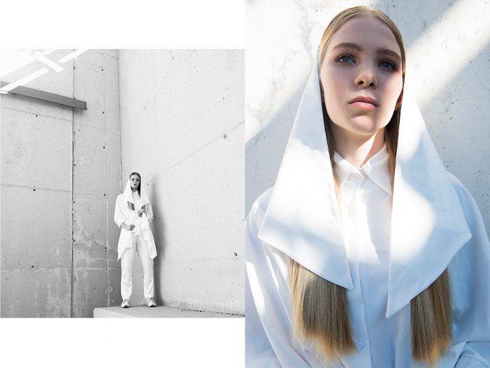 """La estilista de moda Paula Berbell (Majadahonda) viste de blanco en Neo2 """"sin parecer una novia o una monja"""""""