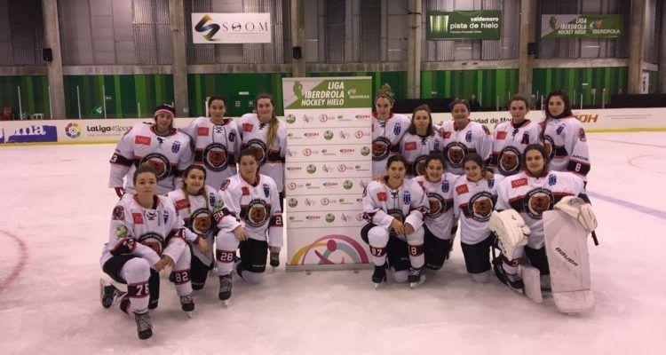 Hockey Hielo: Majadahonda suma doble victoria en femenino, la cantera triunfa en Belgrado y pierde contra FC Barcelona (4-3)