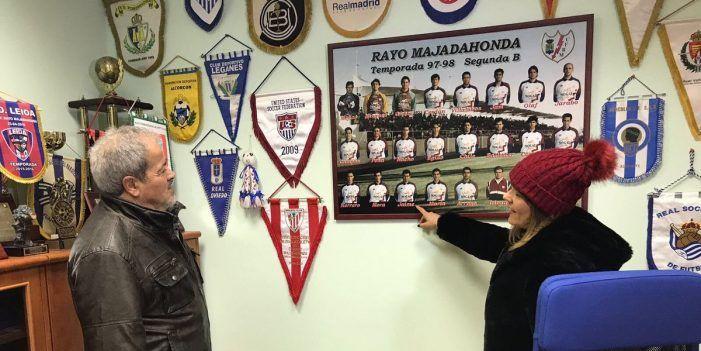 """Homenaje de Telemadrid al míster Antonio Iriondo (Rayo Majadahonda): """"es un entrenador atípico"""""""