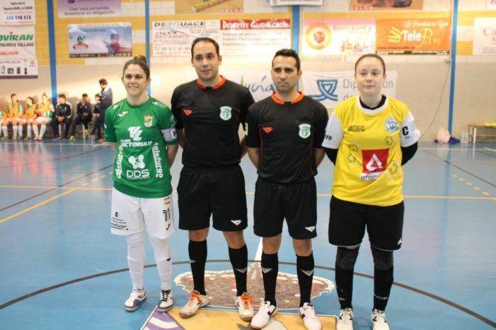 Fútbol sala femenino: Lauri y Ana Belén se traen los 3 puntos y dejan que Guadalcacín (Cádiz) celebre solo los carnavales