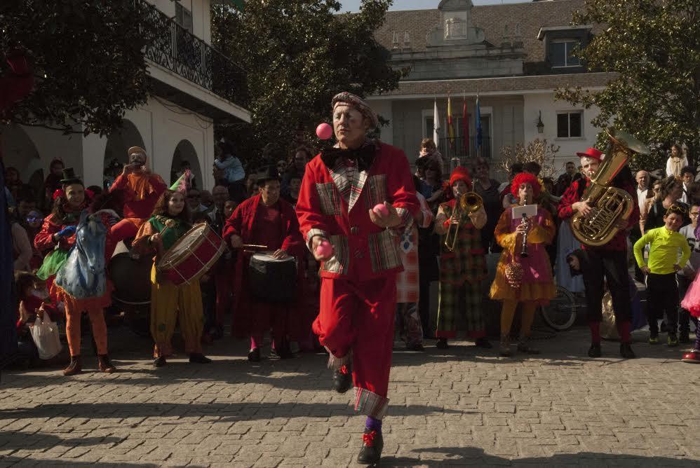 Protagonistas Majadahonda: carnaval infantil, JM Bueno, Taller Bohemia, Centro Juvenil, Manuel de Cos, Manos Unidas, Amazonía-Requena