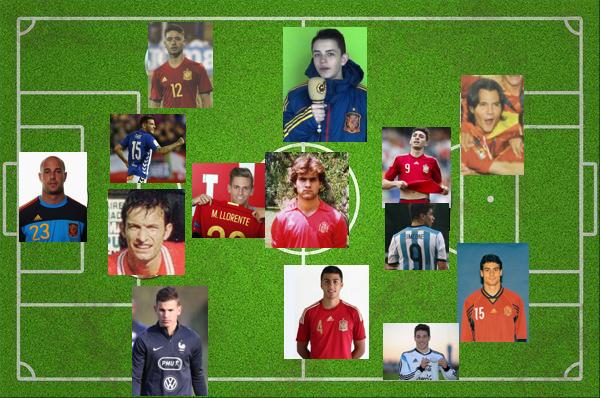 Majadahonda aporta 14 futbolistas internacionales para la Historia ante el Mundial Rusia 2018